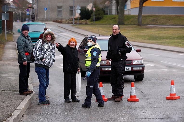 Ситуация в Валаге, Эстония