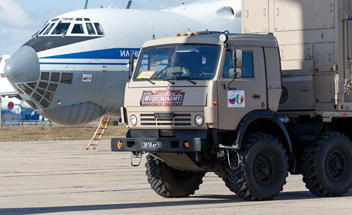 Blick (Швейцария): российские военные отправились на фронт борьбы с коронавирусом