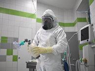 Ильинская больница готовится к приему пациентов с подозрением на коронавирус