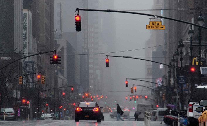 Нью-Йорк во время режима ЧС