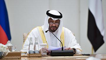 Наследный принц Абу-Даби Мухаммед бен Заид аль-Нахайян