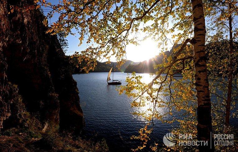Осень в Красноярском крае