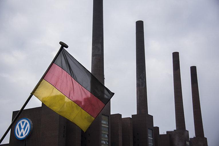 Завод Volkswagen в Вольфсбурге, Германия