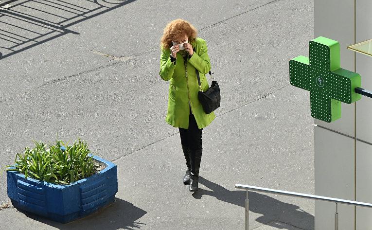Прохожий в Киеве