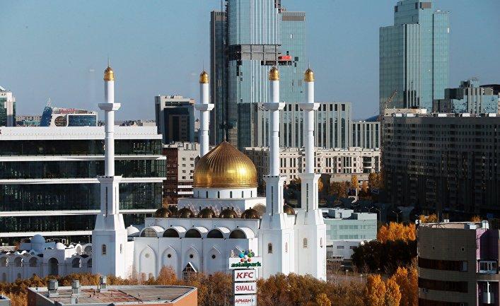 Мечеть Нур-Астана в Нур-Султане