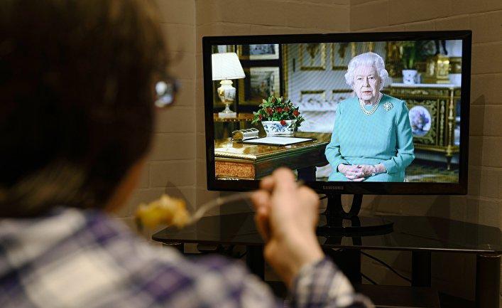 Обращение королевы Великобритании к нации