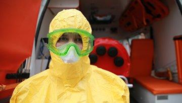 Бокс для перевозки зараженных коронавирусом