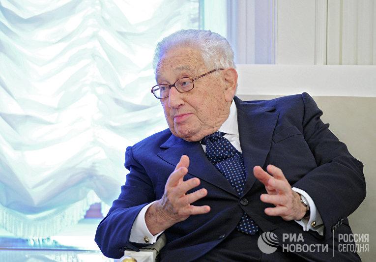 Экс-госсекретарь США Генри Киссинджер в Кремле