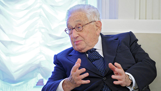 Эрик Руссель: Не допустить сближения Москвы и Пекина  великий урок Киссинджера (Le Figaro, Франция)
