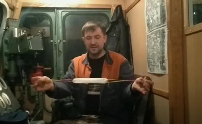 Кадр из видео, взятый из социальных сетей