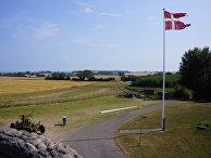 Военные укрепления на острове Лангеланн, Дания