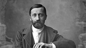 Портрет писателя Д.С. Мережковского