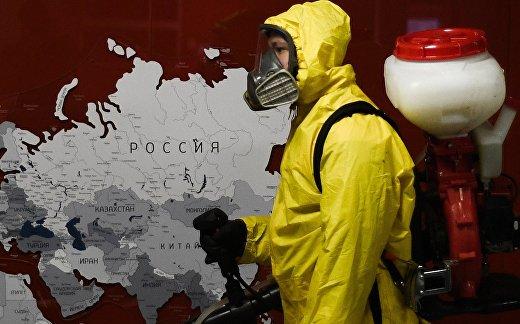 Дезинфекция Павелецкого и Ярославского вокзалов в Москве