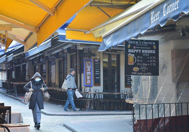 Ситуация в Стамбуле в связи с коронавирусом