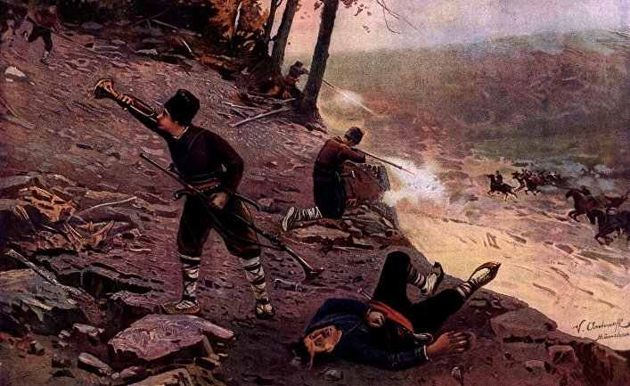 Участники Апрельского восстания в Болгарии, 1876 год