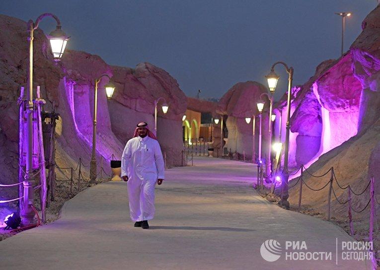 Гора Аль-Агра в Саудовской Аравии