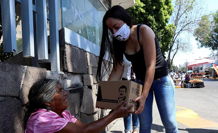 Кампания по оказанию помощи нуждающимся пожилым людям во время вспышки COVID-19 в Гвадалахаре, Мексика
