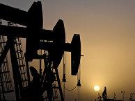 Добыча нефти в Мидленде, штат Техас, США