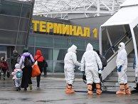 Прибытие рейса из Анталии в Казань