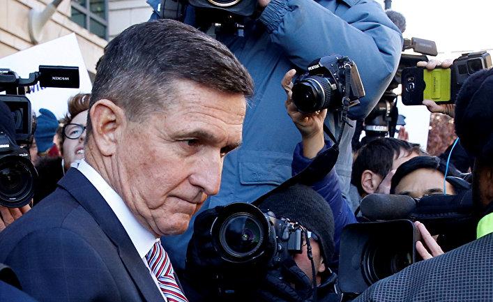 Бывший советник по национальной безопасности США Майкл Флинн в Вашингтоне