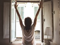 Открытое окно