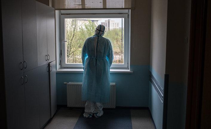 Госпиталь COVID-19 в центре МГУ имени М. В. Ломоносова