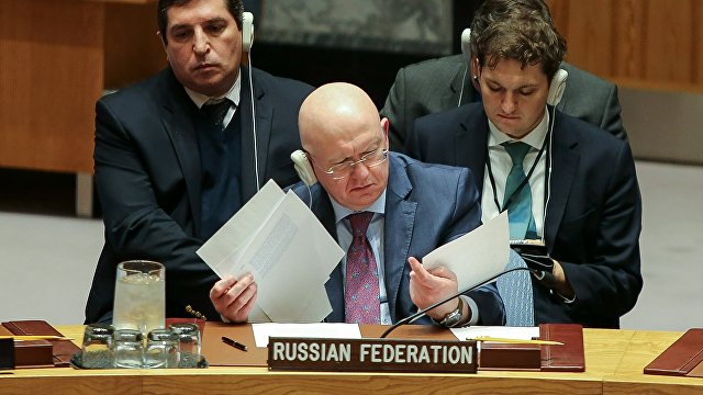 Укрiнформ (Украина): о какой безопасности может говорить Кремль в Совбезе ООН