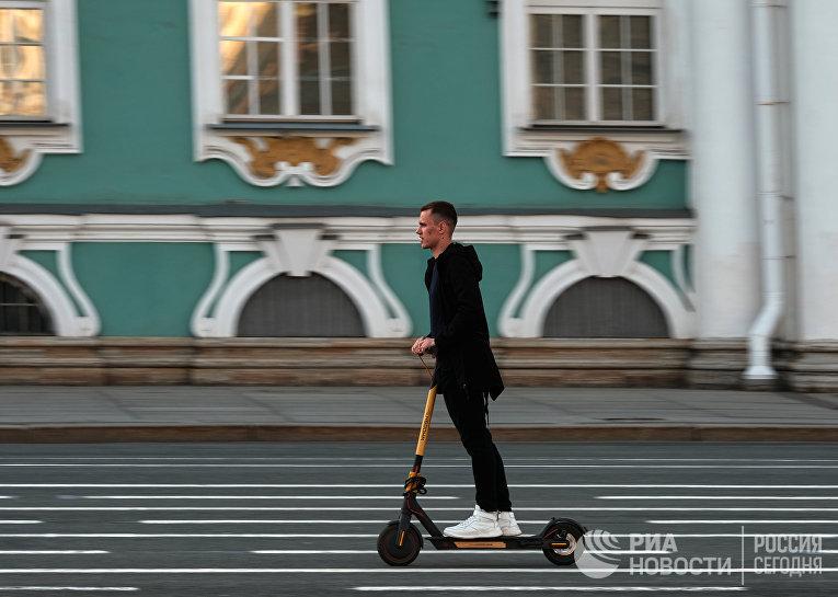 Санкт-Петербург во время пандемии COVID-19