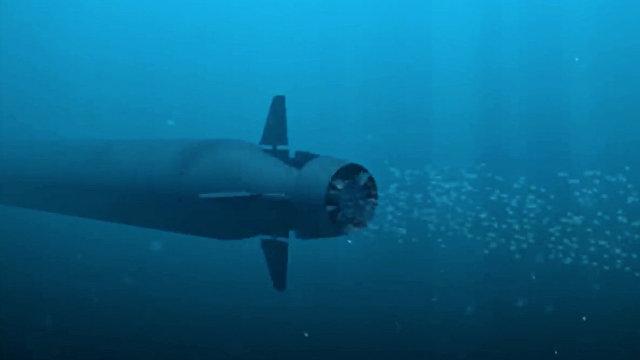 Daily Mail (Великобритания): ядерное цунами Владимира Путина под названием Посейдон  незаметная гигантская торпеда, которая может топить города радио