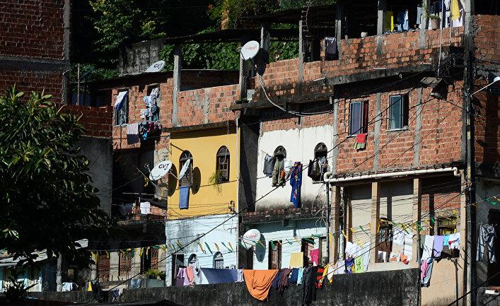 Фавелы в Сальвадоре