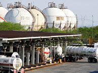 Нефтеперерабатывающий завод нефтяной компании Pemex в Кадерейте, Мексика