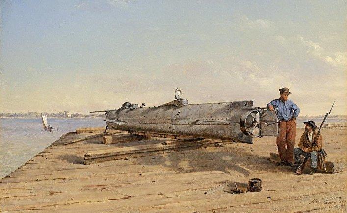«Ханли» на берегу
