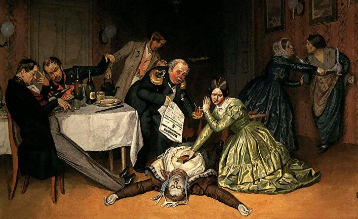 Всё холера виновата