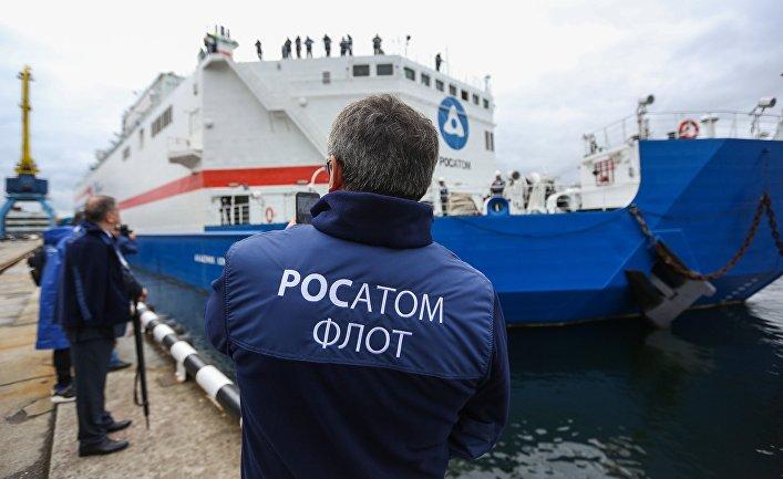 """Плавучая атомная теплоэлектростанция """"Академик Ломоносов"""""""
