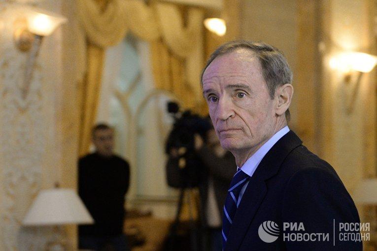 Председатель координационной комиссии МОК по подготовке Игр-2014 Жан-Клод Килли