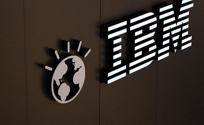 Логотип корпорации IBM
