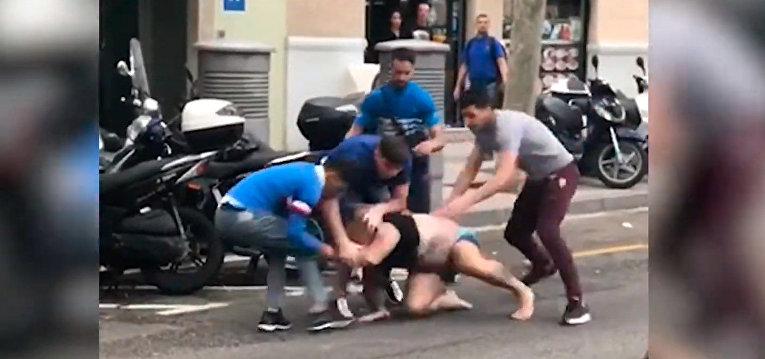Задержаны пять человек за попытку насильственного ограбления мужчины в Эль-Равале
