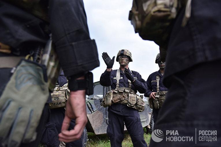 """Военные учения """"Рэпид трайдент-2018"""" на Украине"""