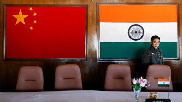 Подготовка к встречи между военными командирами Китая и Индии