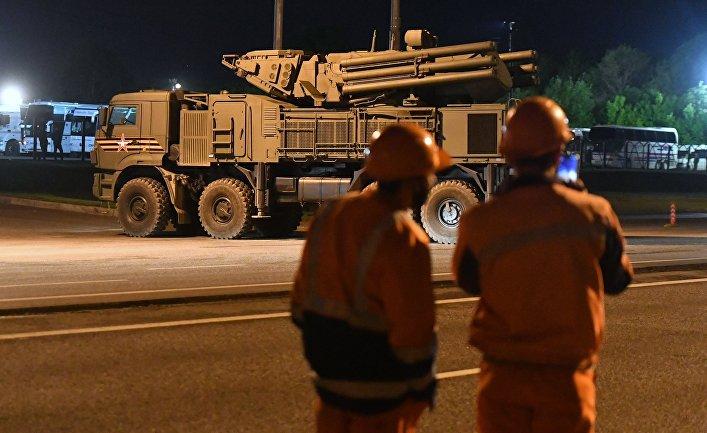 Передислокация военной техники в Москву для участия в параде Победы