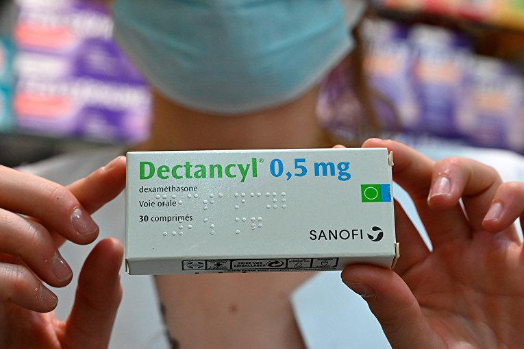 Лекарственный препарат Дектанцилом, содержащий дексаметазон