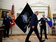Флаг космических сил Соединенных Штатов