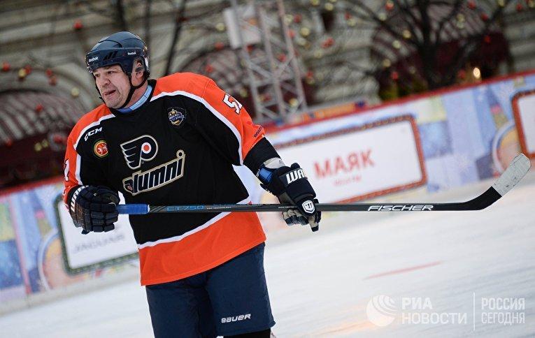 Игрок сборной команды России Андрей Коваленко