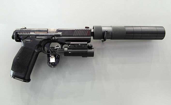 Пистолет Лебедева ПЛ-15