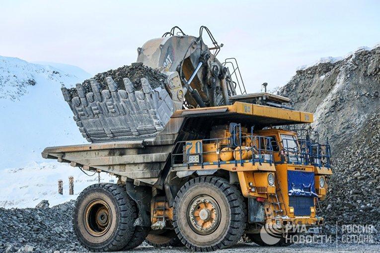 """Восточный рудник """"ФосАгро"""" в Мурманской области"""