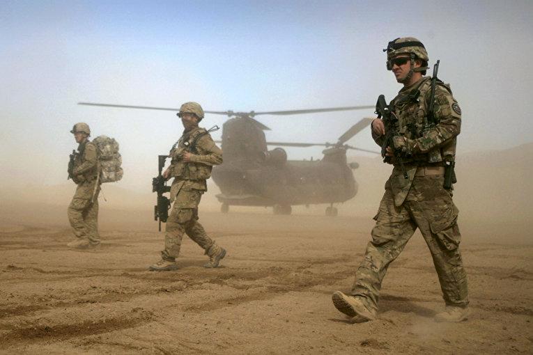 Военнослужащие США в Шинданде, Афганистан