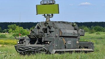 """Зенитно-ракетный комплекс """"Тор-М2"""" во время учений Кантемировской дивизии ЗВО"""