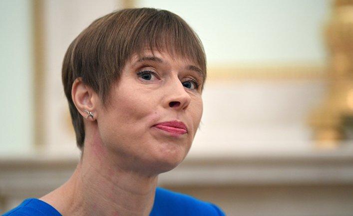 Керсти Кальюлайд, президент Эстонии: «Мы потеряли последние иллюзии насчет России» (Le Monde, Франция)