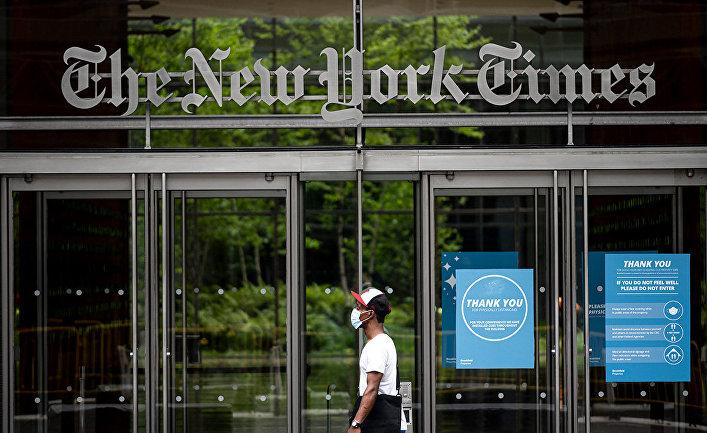 Здание The New York Times, Нью-Йорк, США