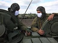 Ситуация на линии разграничения в Донецкой области